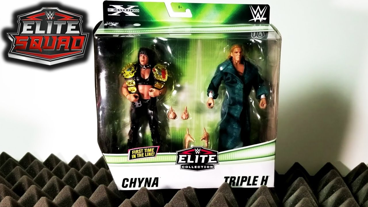 Are You Ready? Chyna & Triple H - WWE Elite 2-Pack unboxing and review!