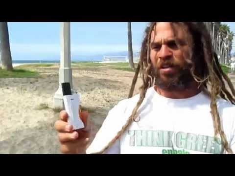 EZ Lite Pipe, Simple, All in One Smoking Device, Venice Beach