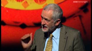 Jeremy Corbyn makes his pitch for Labour leadership - BBC Newsnight thumbnail