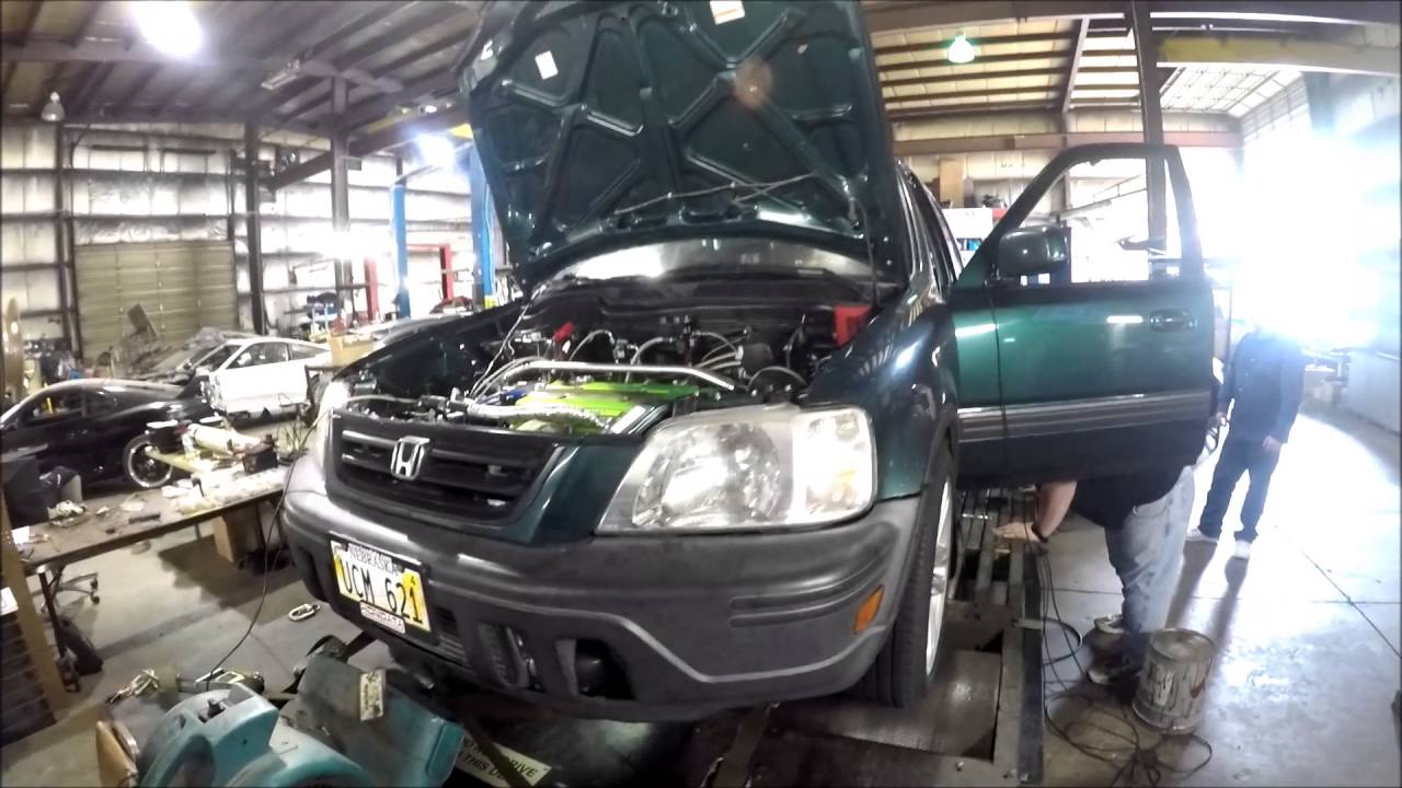 Turbo CRV Worlds Highest Confirmed 529whp 383wtq