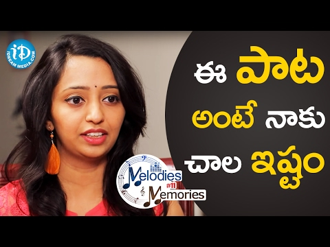 I Like That Song A Lot - Singer Malavika || Melodies And Memories