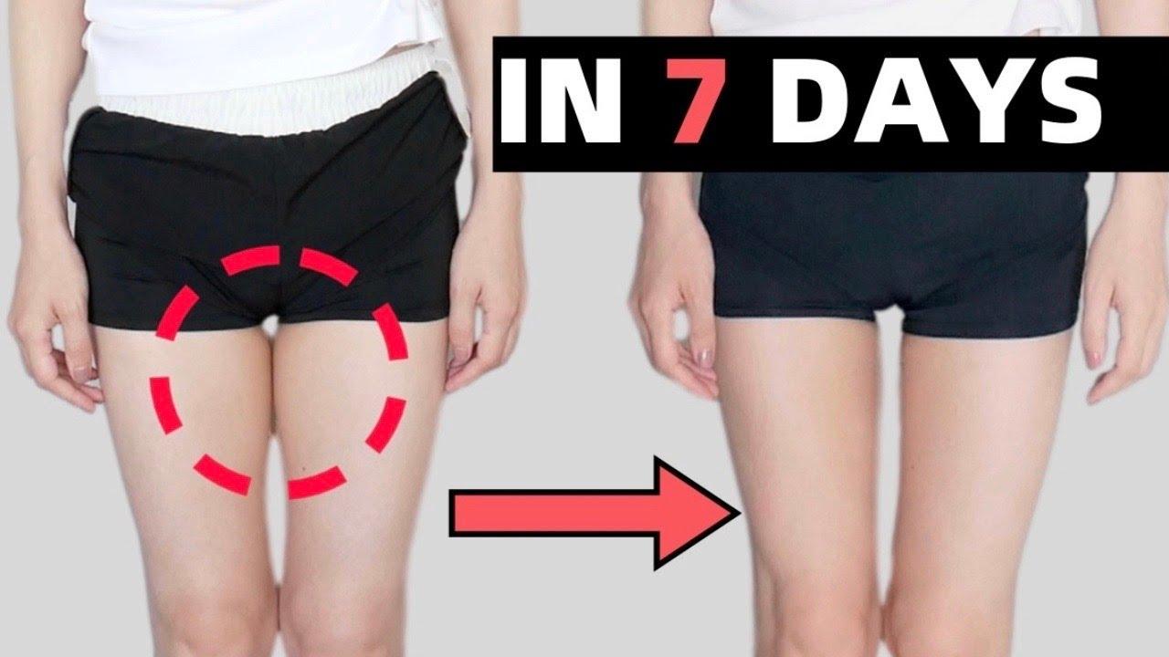 10分钟高效瘦大腿根儿运动,躺床练出大腿缝,亲测一周见效|膝盖友好,无器械,无跑跳!