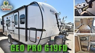 2018 ROCKWOOD GEO PRO G19FD Lightweight Travel Trailer RV Colorado