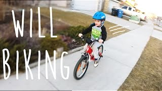 Learning to ride a bike - MEC Ghost bicycle