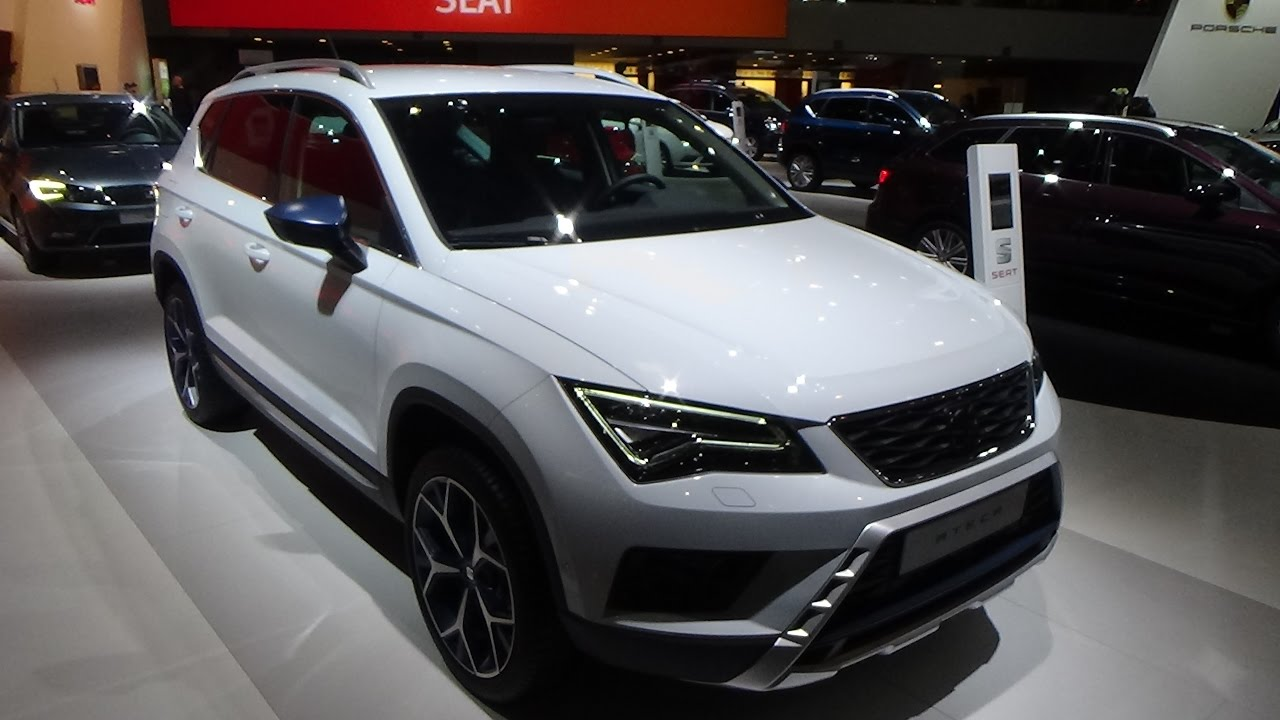 2017 seat ateca style tsi 115 exterior and interior auto show brussels 2017 youtube. Black Bedroom Furniture Sets. Home Design Ideas