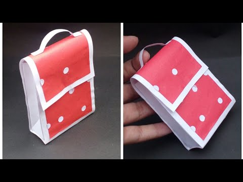 DIY easy paper bag||Super easy craft||Prachi art and craft