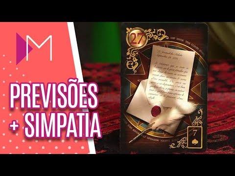 Previsões de Maria Itália + Simpatia - Mulheres (06/09/18)