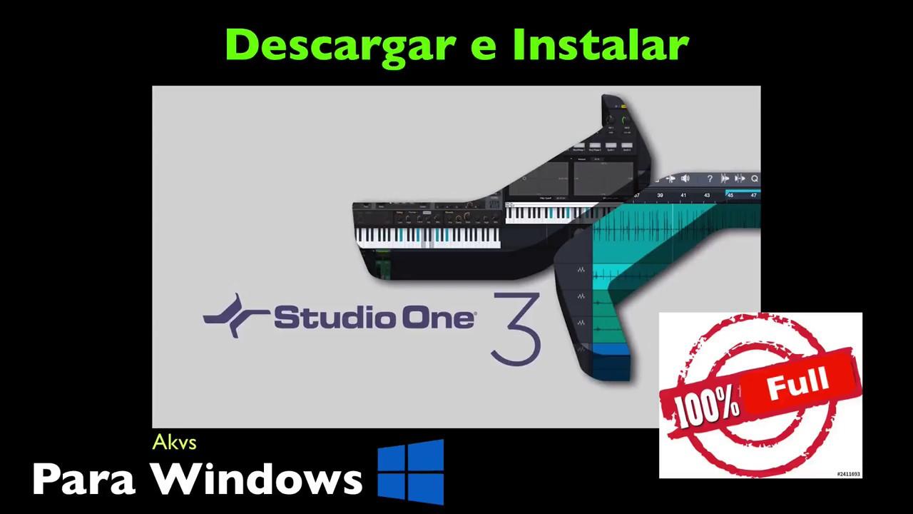 descargar studio one 3 full gratis