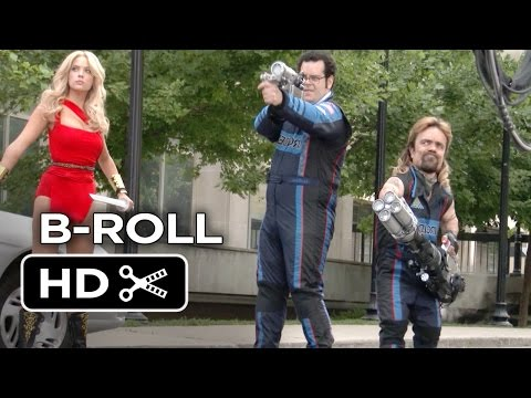 Pixels B-ROLL (2015) - Josh Gad, Peter Dinklage Movie HD