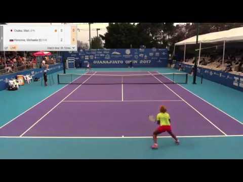 Osaka Mari v Honcova Michaela - 2017 ITF Irapuato