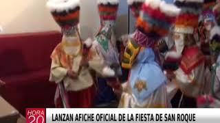 LANZAN AFICHE OFICIAL DE LA FIESTA DE SAN ROQUE