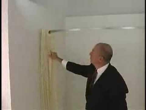 Arcs & Angles Hookless Shower Curtains - YouTube