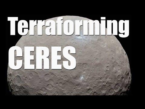 Terraforming CERES - Universe Sandbox 2