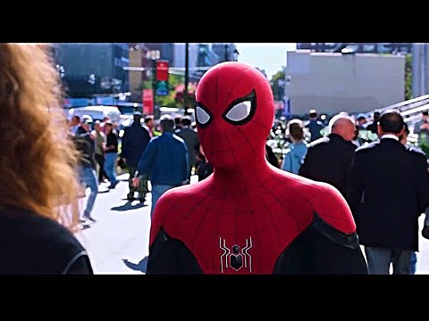 Spider-Man Far From Home - Spiderman And MJ Scene