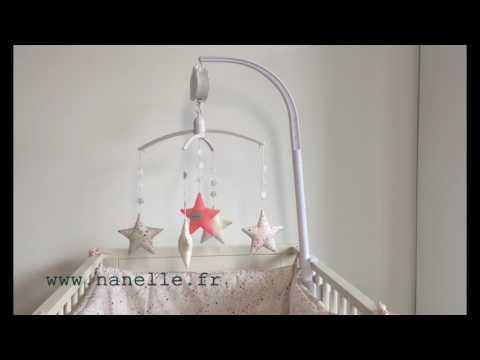 Baby Musical mobile  star for girls