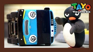 A penguin ran away?! l KungFu Penguin (Part 1) l Tayo's Toy Adventure #08 l Toy Play Show for Kids