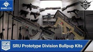 SRU Prototype Division G5 & AK47 3D Printed Conversion Kits - [The Gun Corner] - Airsoft Evike.com