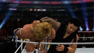 WWE 2K15 - Royal Rumble (30-Man Royal Rumble) 1080p HD