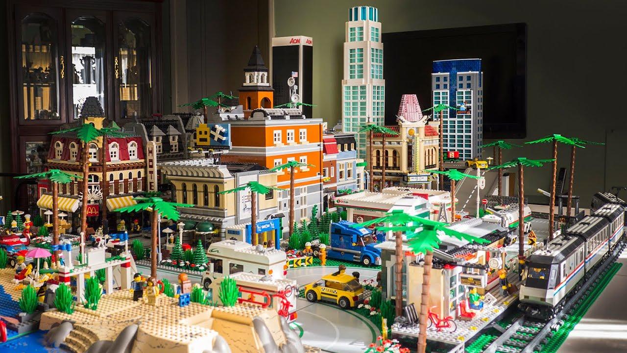 LEGO CITY | Los Angeles - November 2014 Layout - YouTube
