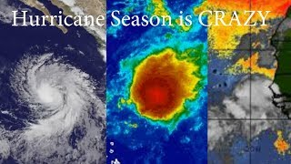 Eugene is a Hurricane! TS Don roars back to life & next wave off Africa is HUGE