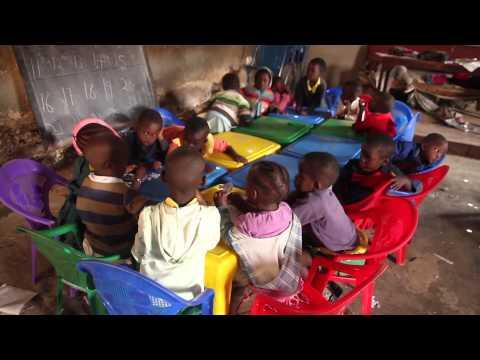 Salem Early Childhood Development center. A none profit School Kibera.