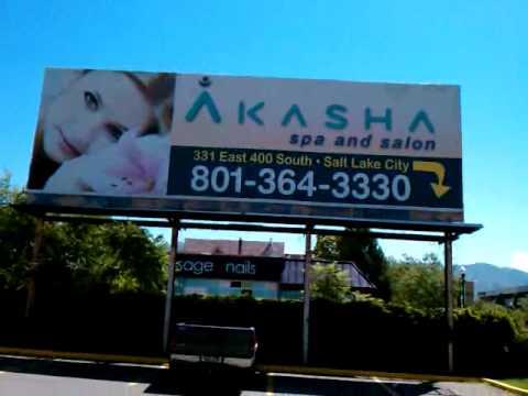 A Massage Parlor Advertisement In Salt Lake City, Utah