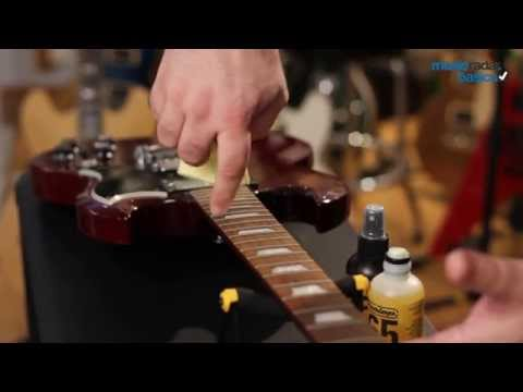 MusicRadar Basics: how to clean a rosewood fingerboard on your guitar