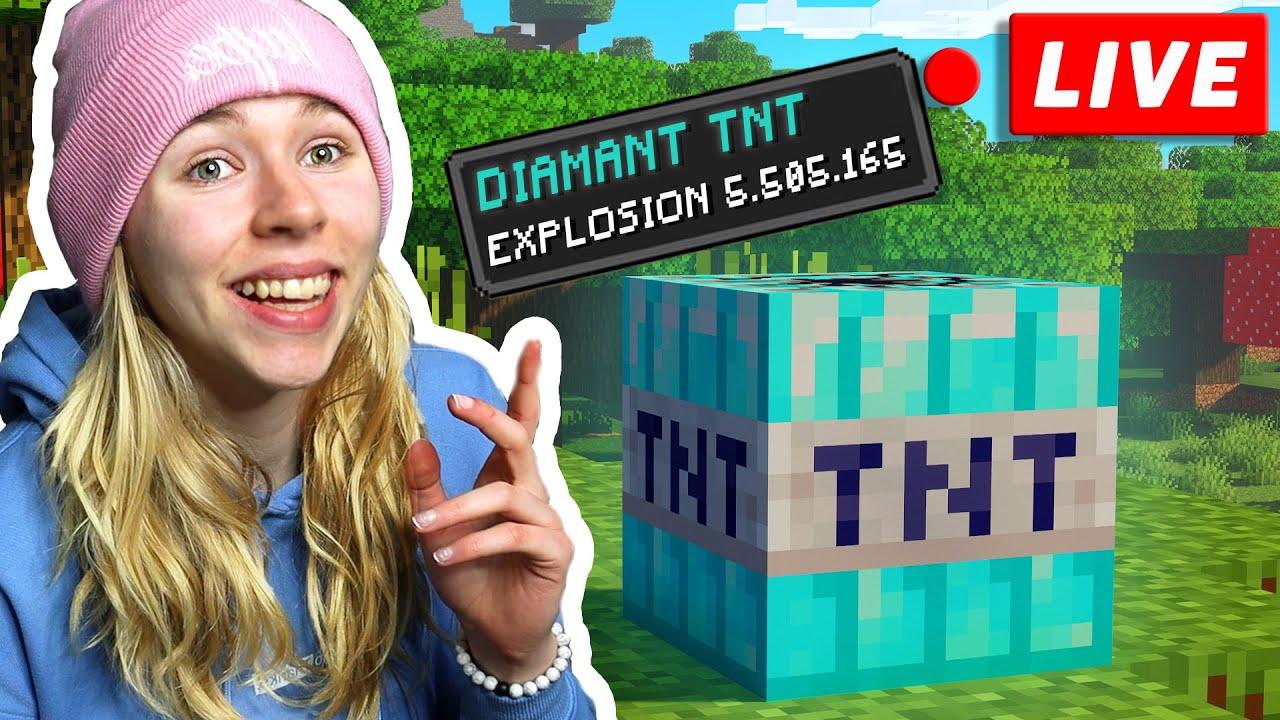 Minecraft aber mit DIAMANT TNT!