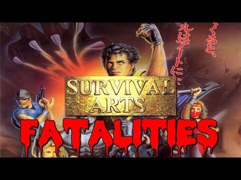 Survival Arts (サバイバルアーツ Sabaibaru Ātsu)  All Fatalities High Quality HLSL 60fps