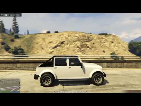 GTA Online - Prison Bus Heist