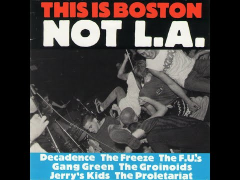 This Is Boston Not L.A. (1982) - Boston punk compilation