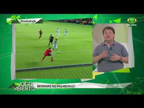 Bernard, Gil e Lucas Lima devem jogar pelo Palmeiras