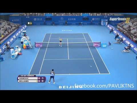 Ana Ivanovic vs Venus Williams CHINA OPEN