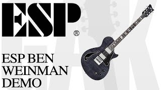 ESP LTD BW-1FM ET STBLK ESP LTD BW-1FM Demo Review