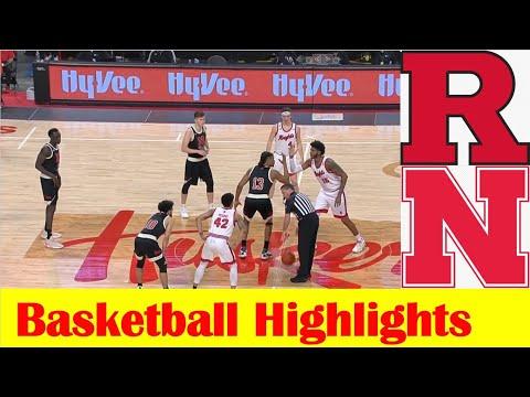 Rutgers vs Nebraska Basketball Game Highlights 3 1 2021