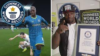 Adebayo Akinfenwa: Strongest player on FIFA - Guinness World Records