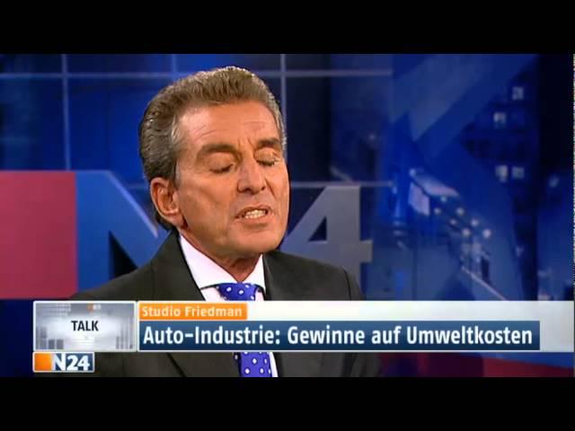 Studio Friedman: Autofahren wird zum Luxus (Ganze Sendung 04.04.2012)