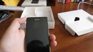 Розпакування посилки SONY XPERIA Z1 compact з Китаю(відео Збірка)