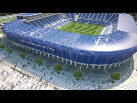 Propuesta Estadio Club Universidad de Chile.