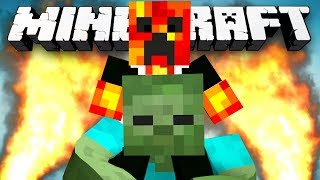 Minecraft: THE ZOMBIE OLYMPICS! (Epic Zombie Minigame) - w/Preston & Kenny
