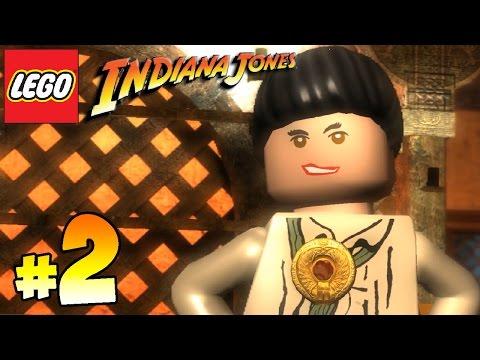 ЛЕГО ИНДИАНА ДЖОНС Оригинальные приключения Прохождение игры лего - 4 серия / LEGO Indiana Jones