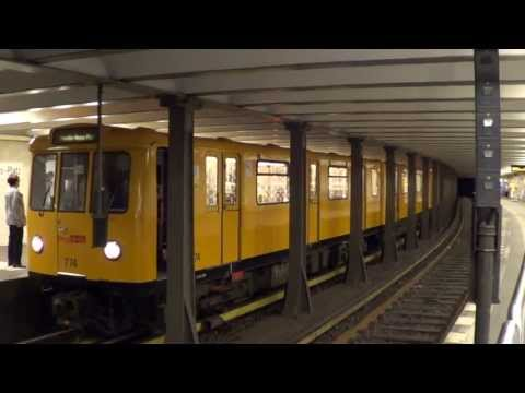 U-Bahn Berlin - U-Bahnhof Theodor-Heuss-Platz U2 [HD 1080p]