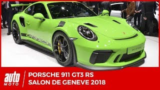 Salon de Genève 2018 : les nouveautés Porsche