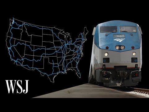 Inside Amtrak's Dying Long-Distance Trains | WSJ