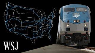 Inside Amtrak's Dying Long-Distance Trains   WSJ