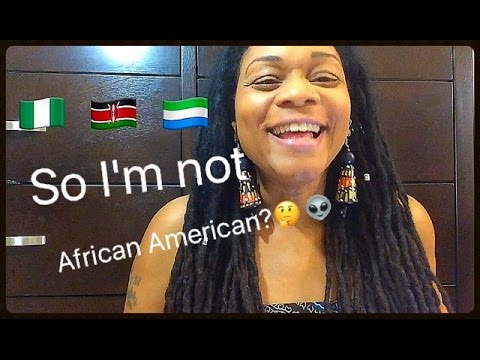A Unity Moment!! My DNA Results WOW!!! Shocking!!! East African?