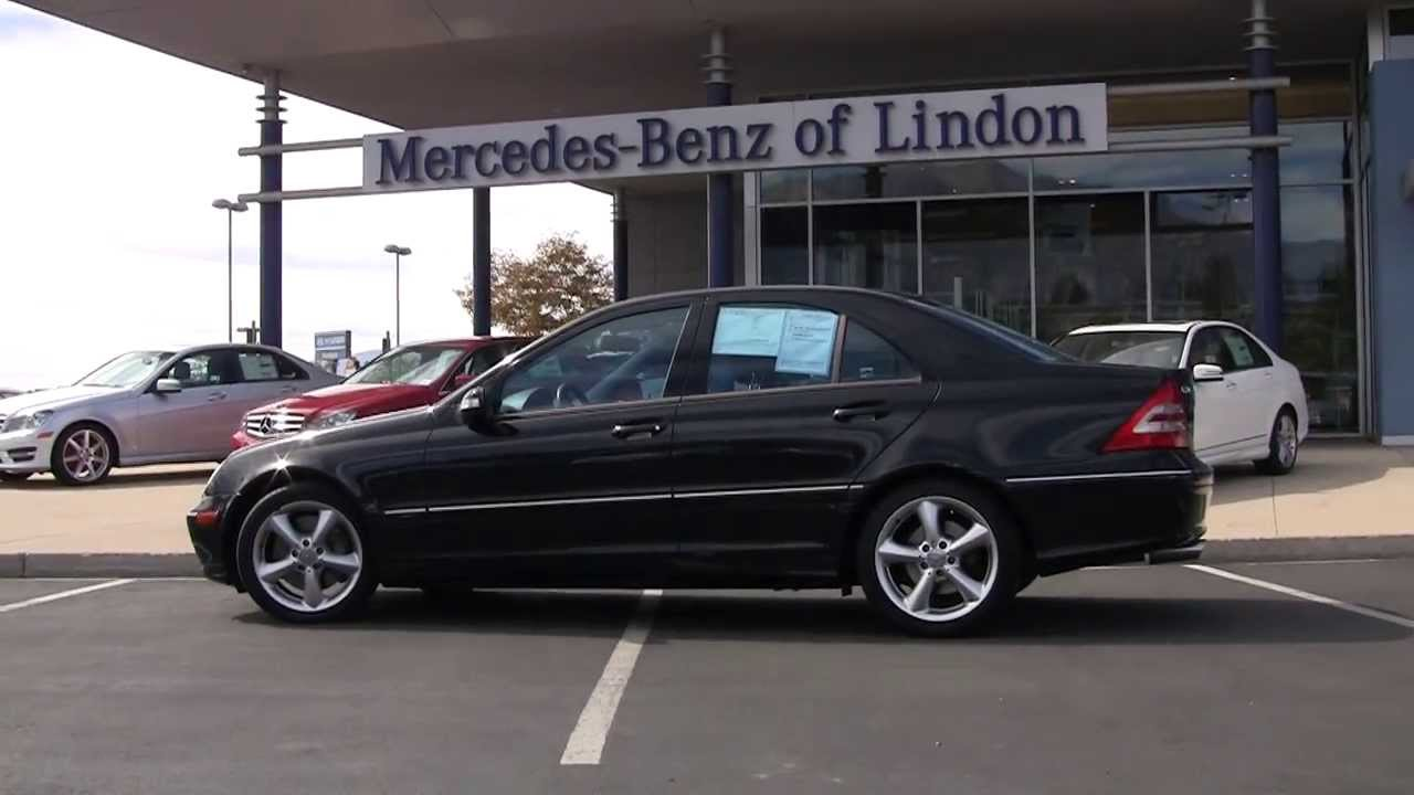 MercedesBenz C230 Kompressor 2004 4A60774T  YouTube