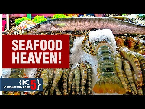 Thai Street Food – Best seafood restaurants in Hua Hin, Thailand