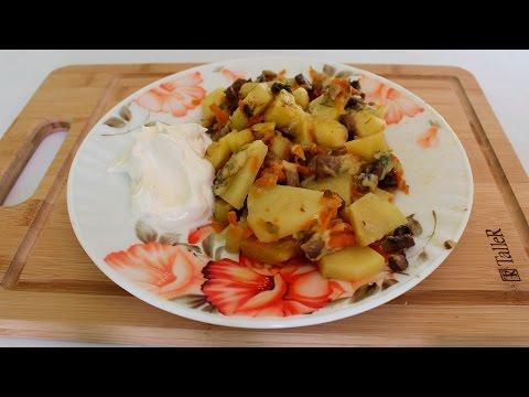 Фаршированные шампиньоны в духовке с сыром - пошаговый