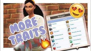 ADD MORE CAS TRAITS MOD // The Sims 4 Mods